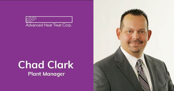 Chad Clark, AHT Plant Manager