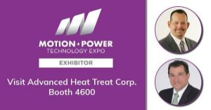 AHT to Exhibit at 2019 Motion + Power Technology Expo