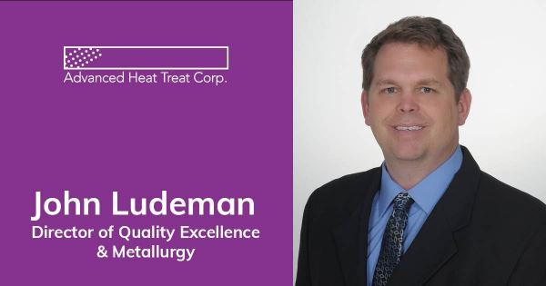 John Ludeman Voting Member of Nadcap Heat Treat